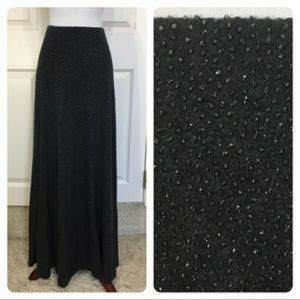 Laundry maxi embellished skirt
